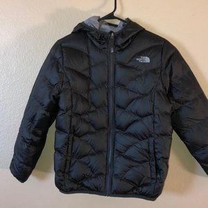 EUC Northface kid's reversible jacket size L